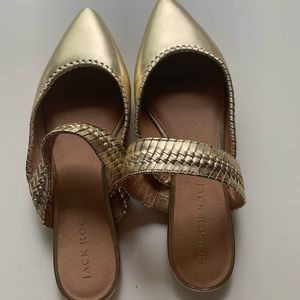 NWT Jack Rogers Tinsley Pointed Mule